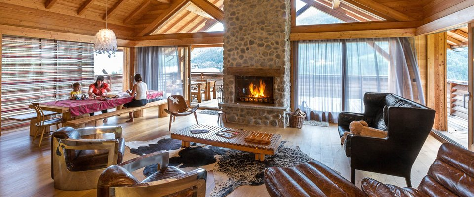 luxe chalets serre chevalier