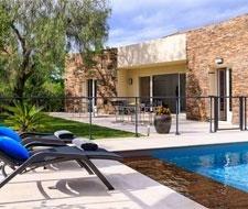 villa le sirocco corsica luxe villa zwembad
