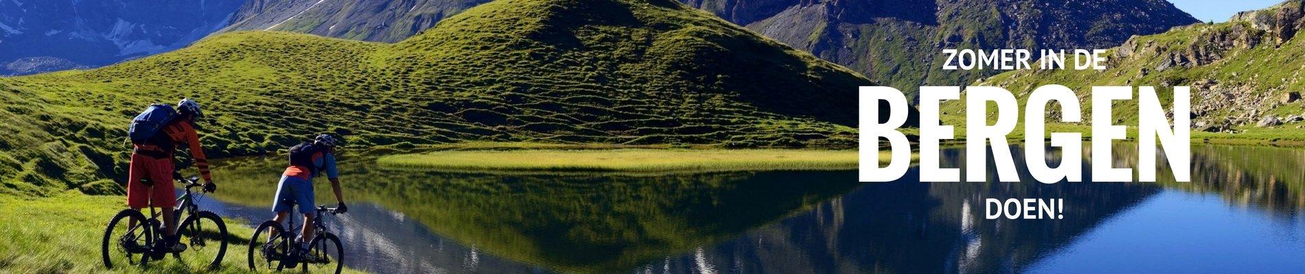 zomer banner bergen alpen 2018