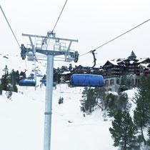 STOELTJESLIFT Frankrijk skivakantie wintersport geen gondels