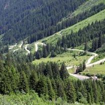 fietsen franse alpen cols frankrijk mountain bike