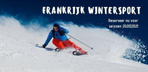 wintersport skivakantie frankrijk alpen vroegboek korting