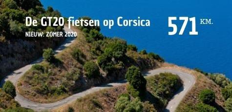 fietsen Corsica zomervakantie