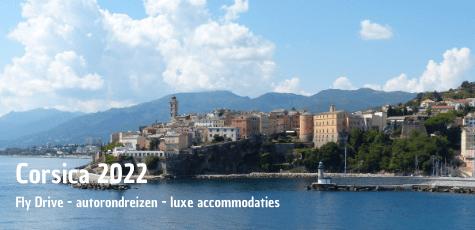 Corsica autorondreizen 2022