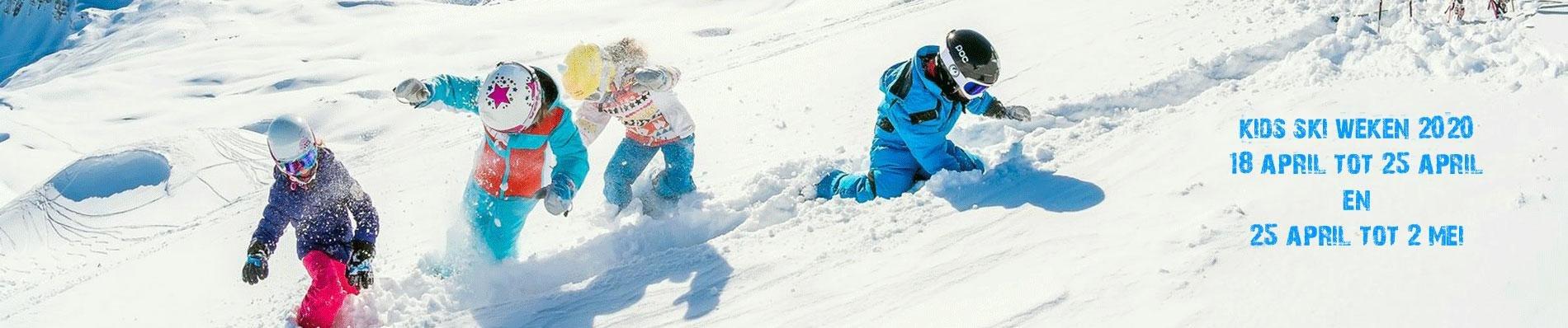 kids ski weken het Frankrijk huis tignes