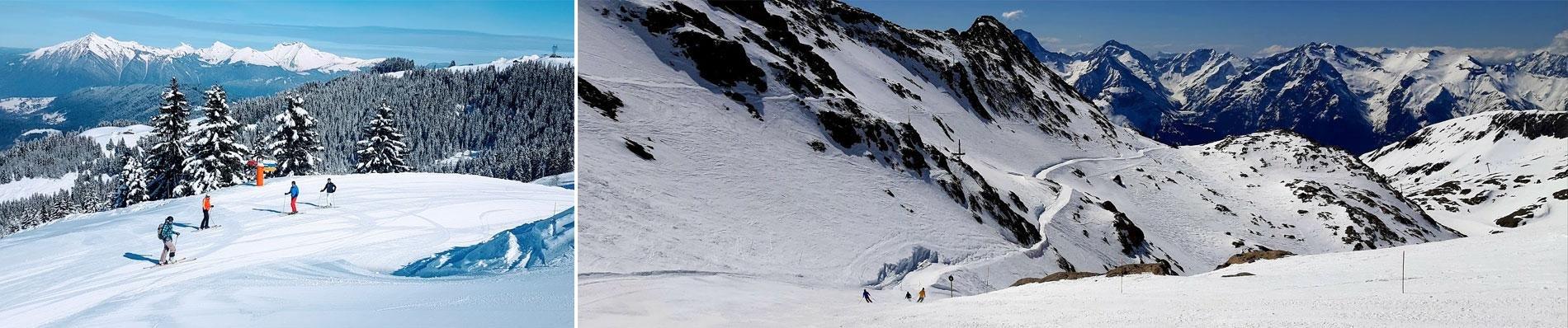 frankrijk wintersport franse alpen sneeuw skivakantie