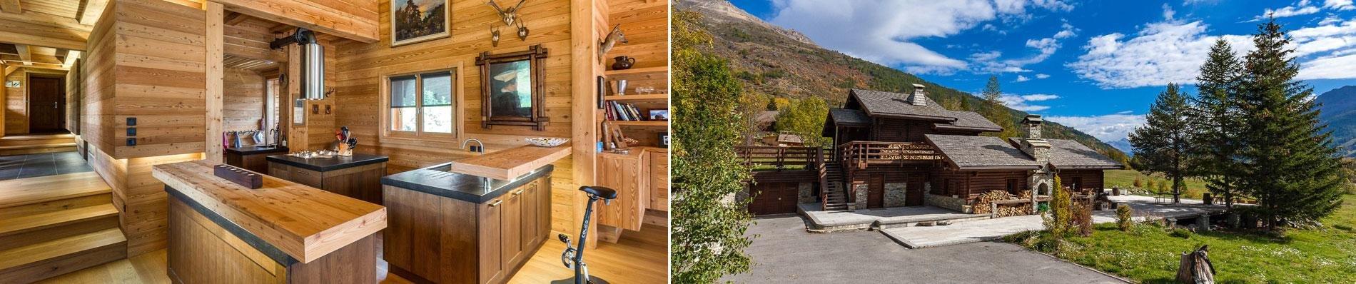 luxe chalets serre chevalier alpen bergen fietsen