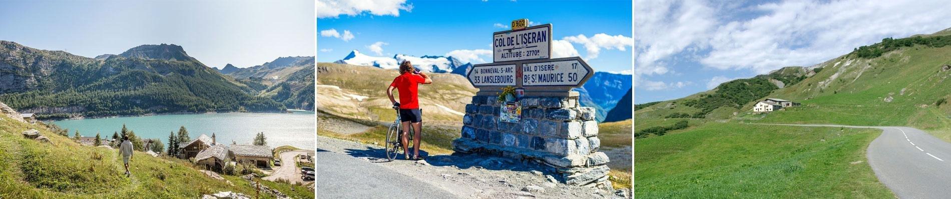 sainte foy zomervakantie bergen alpen fietsen wandelen