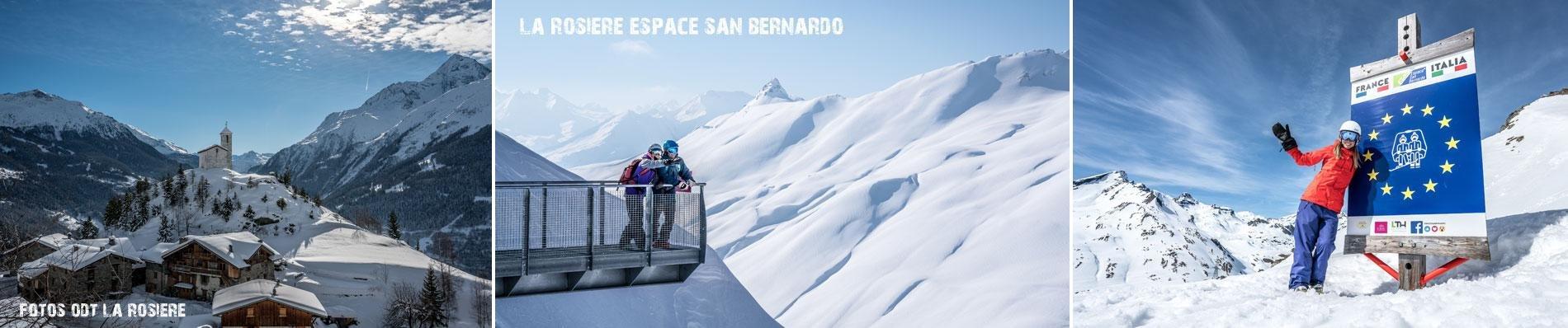 LA-ROSIERE ESPACE SAN BERNARDO