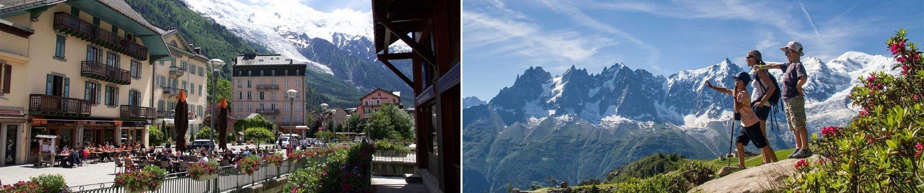 dormio vallorcine zomer alpen