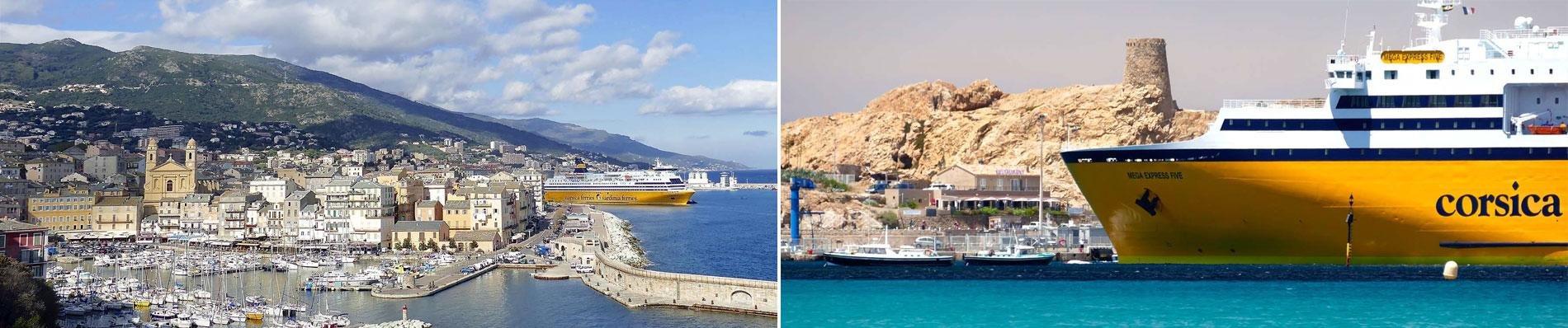 corsica vakantie autorondreis ferry