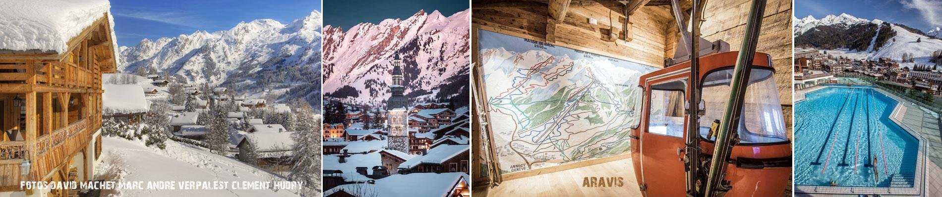 LA-CLUSAZ le grand bornand aravis ski
