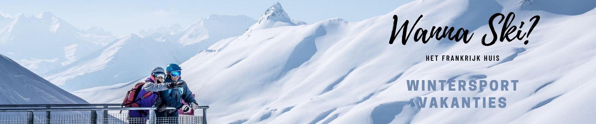 frankrijk wintersport skivakantie ski