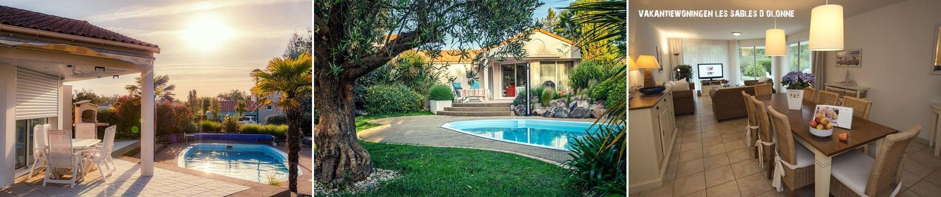 oasis parcs sables d olonne zomervakantie zwembad huis villa