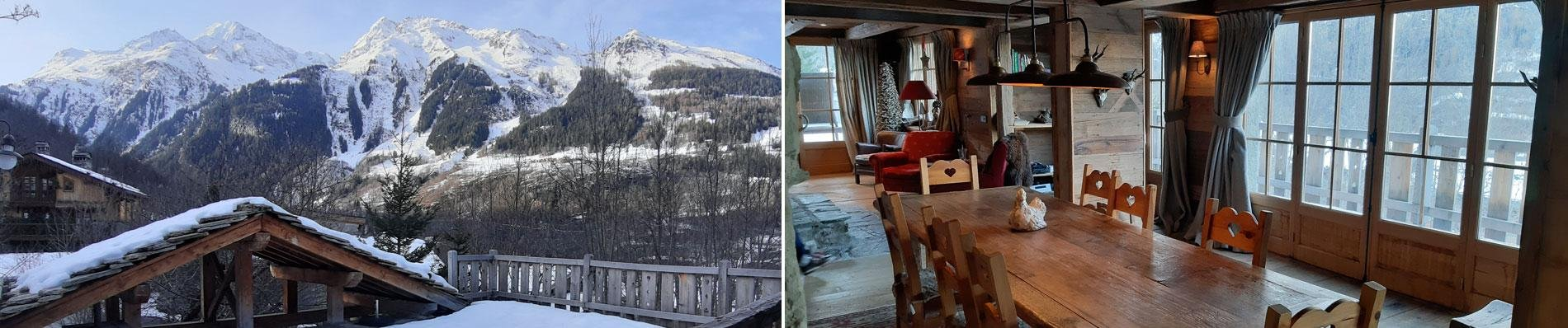 sainte foy chalet le baptieu ski frankrijk wintersport