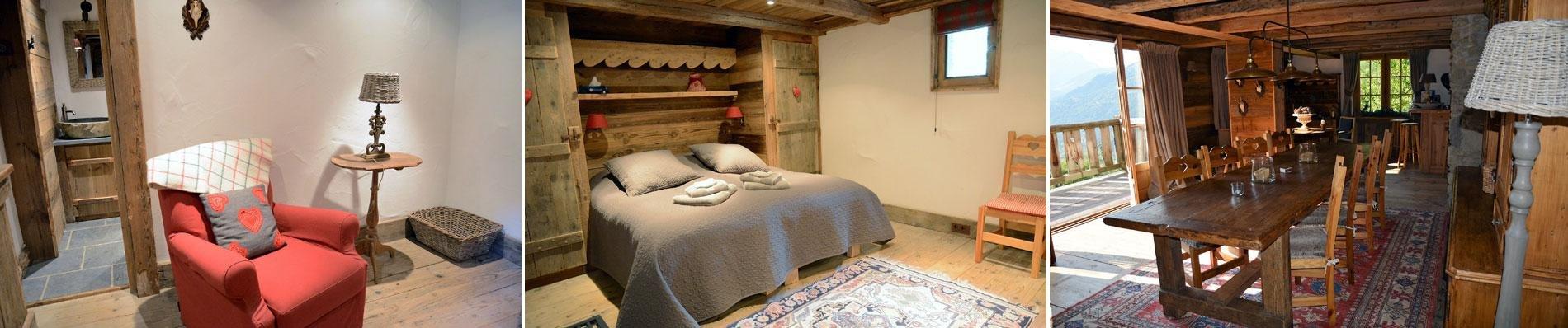 sainte foy chalet luxe ski frankrijk wintersport