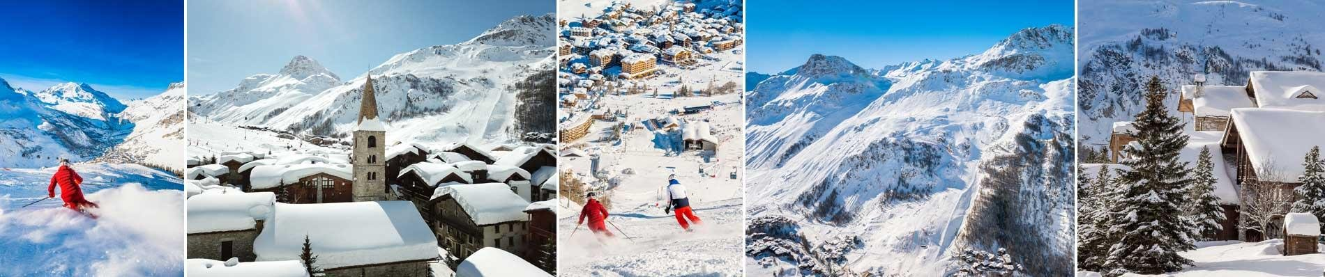 appartement val d'isere wintersport ski