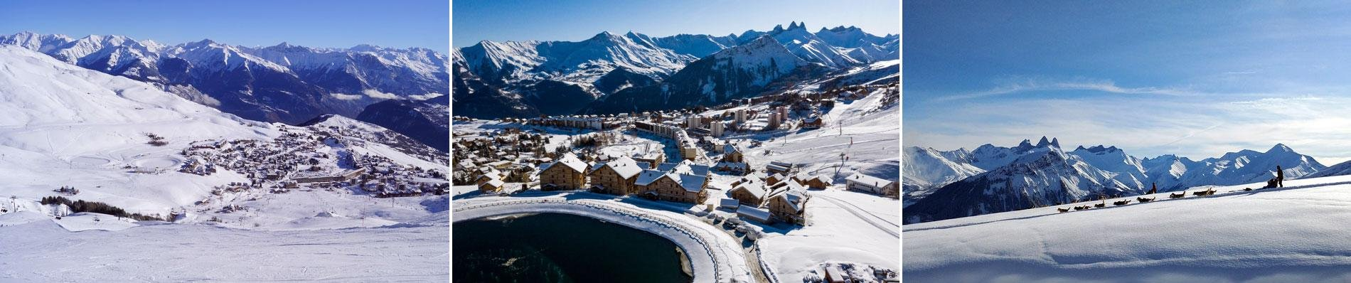 cgh la toussuire alpaga wintersport ski les sybelles