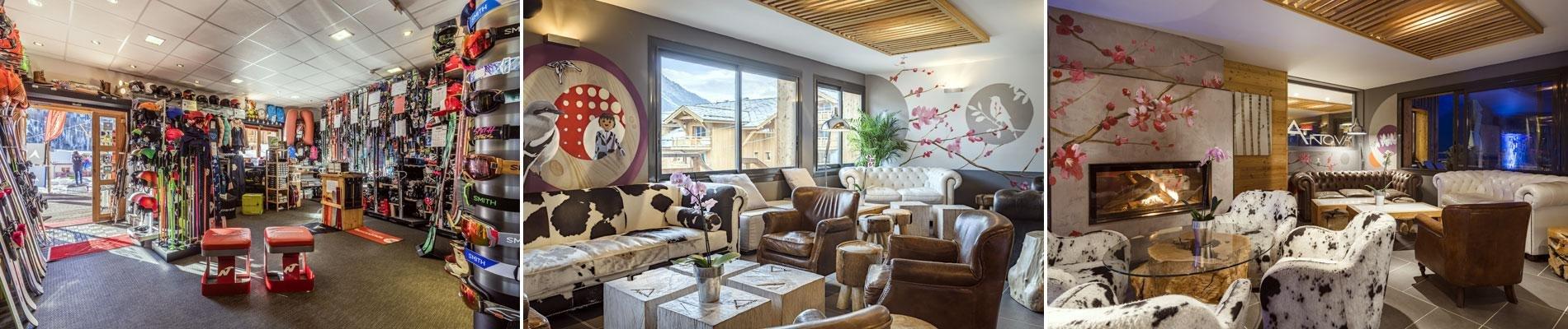 hotel anova montgenevre ski wintersport